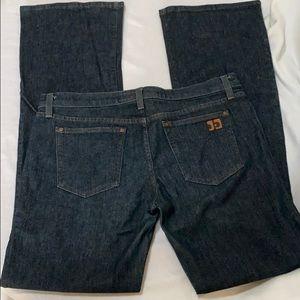 JOE'S jeans women's size 31 W dark boot cut jeans